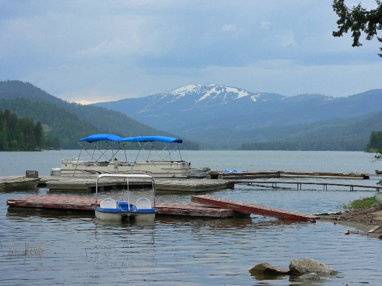 Spirit lake idaho for Public fishing access near me