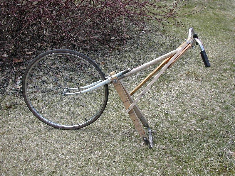 Wheel hoe making